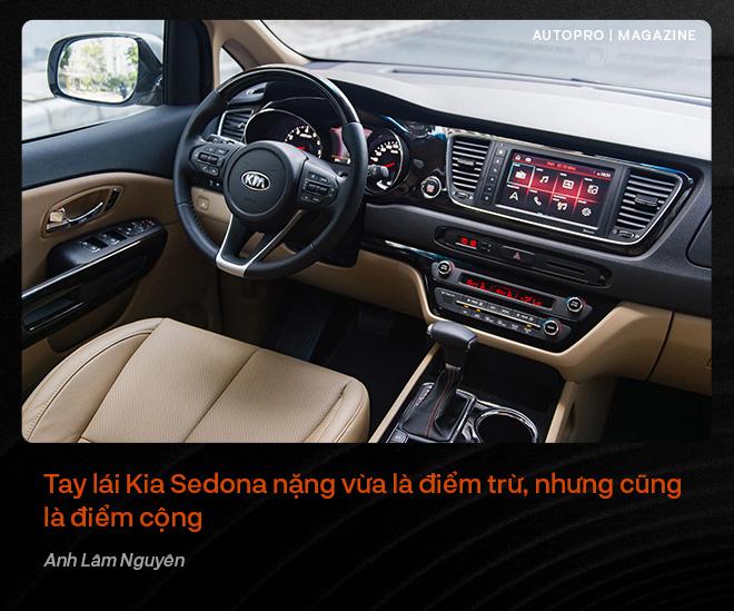 Người dùng đánh giá Kia Sedona: Đích thực xe 7 chỗ cỡ lớn cho gia đình - Ảnh 15.