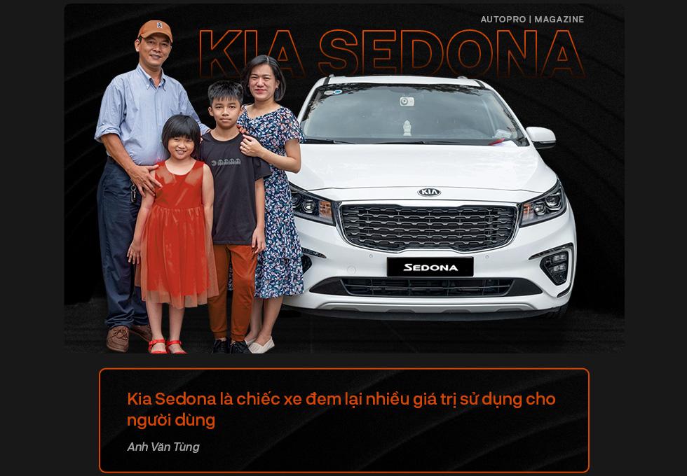 Người dùng đánh giá Kia Sedona: Đích thực xe 7 chỗ cỡ lớn cho gia đình - Ảnh 17.