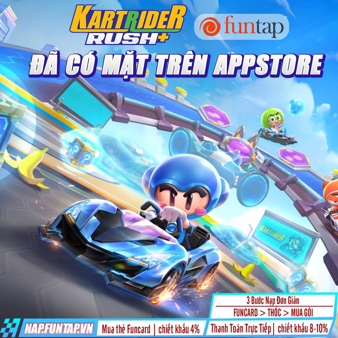 KartRider Rush+ đã chính thức có bản IOS, tải ngay để nhận những ưu đãi hấp dẫn - Ảnh 1.