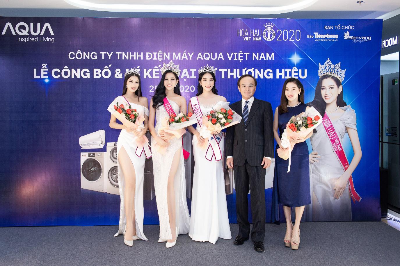 AQUA Việt Nam công bố Đỗ Thị Hà - Hoa hậu Việt Nam 2020 là đại sứ thương hiệu năm 2021 - Ảnh 1.