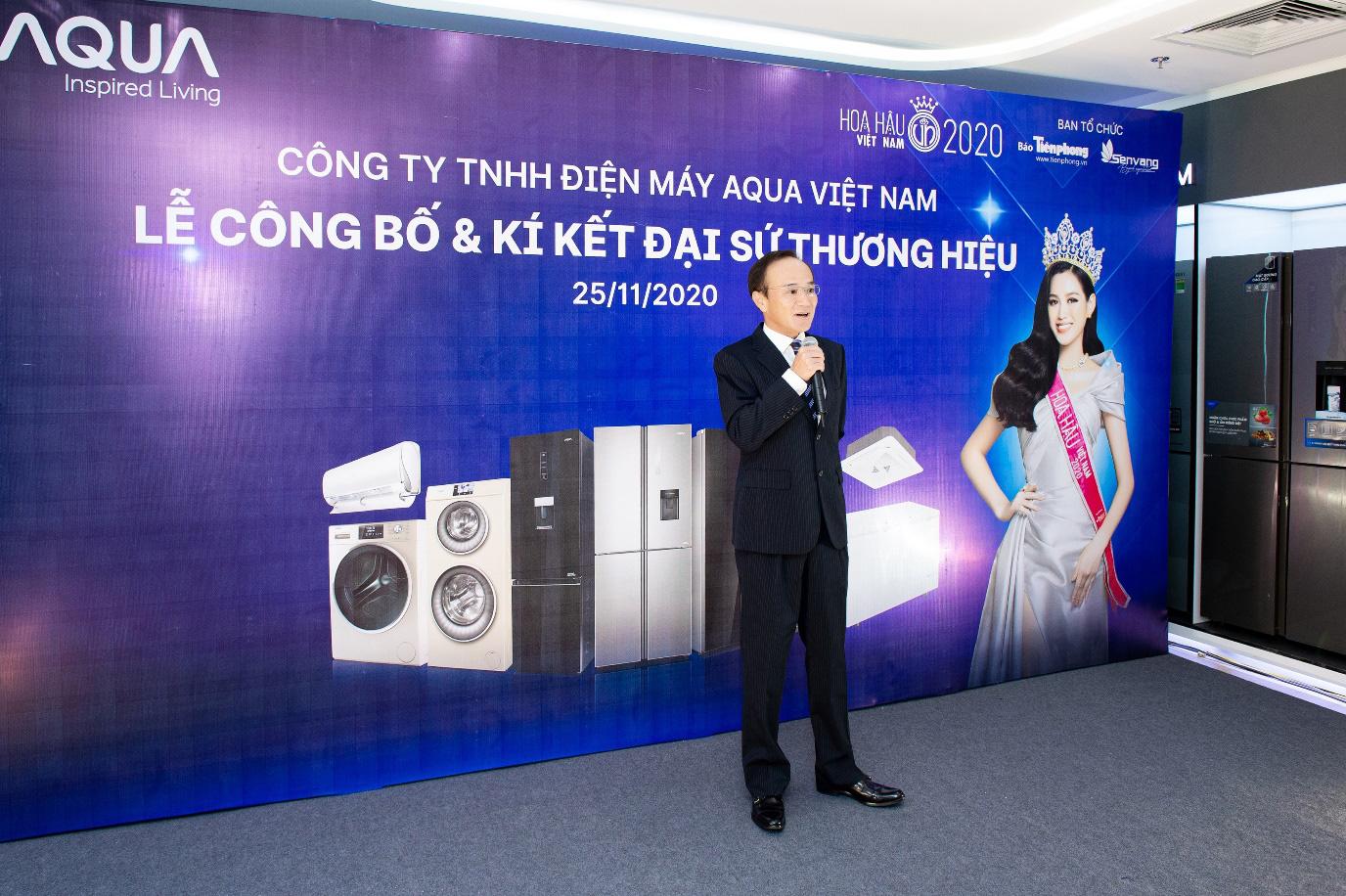 AQUA Việt Nam công bố Đỗ Thị Hà - Hoa hậu Việt Nam 2020 là đại sứ thương hiệu năm 2021 - Ảnh 2.