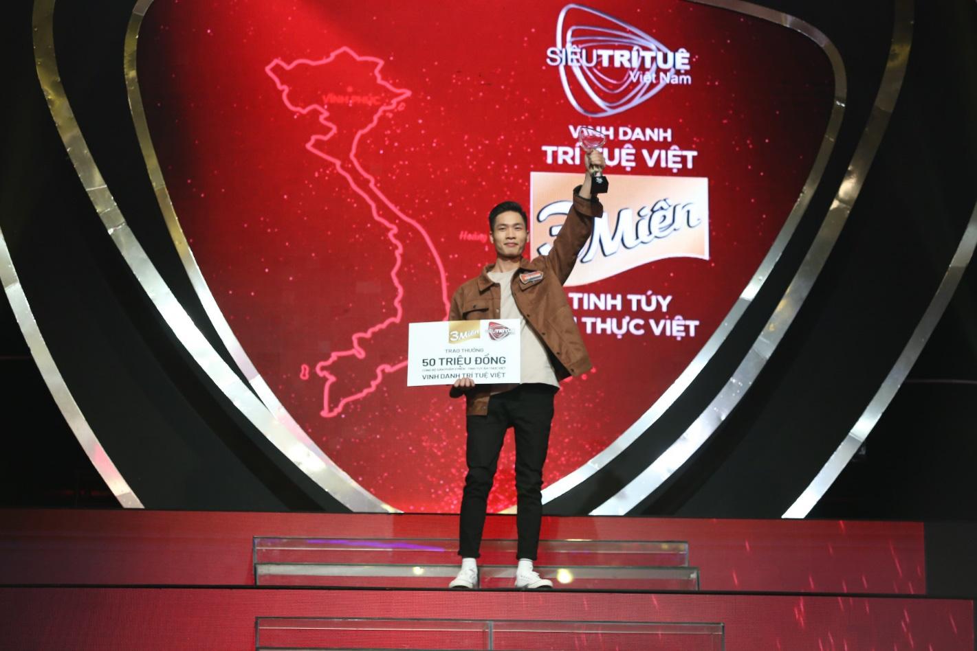 Xuất hiện hot boy xứng danh Trí Tuệ Việt 3 Miền khiến Trấn Thành, Wowy, Tóc Tiên trầm trồ, nổi da gà! - Ảnh 2.
