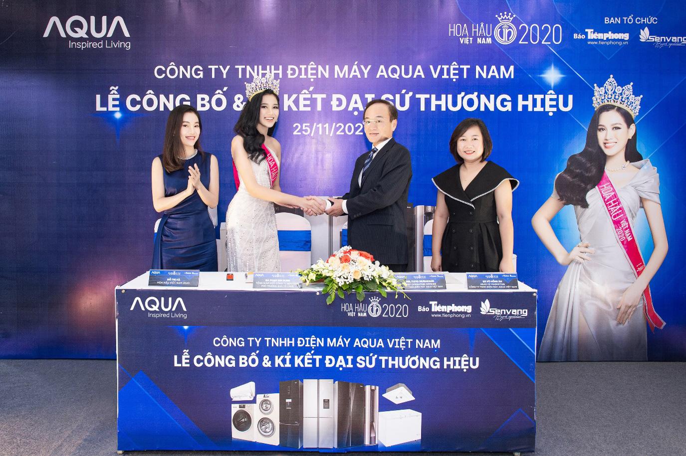 AQUA Việt Nam công bố Đỗ Thị Hà - Hoa hậu Việt Nam 2020 là đại sứ thương hiệu năm 2021 - Ảnh 3.