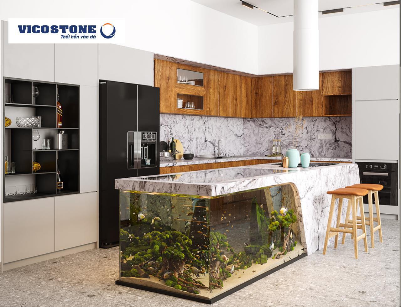 Thổi hồn cho căn bếp hiện đại từ góc nhìn của người đam mê nội thất - Ảnh 3.