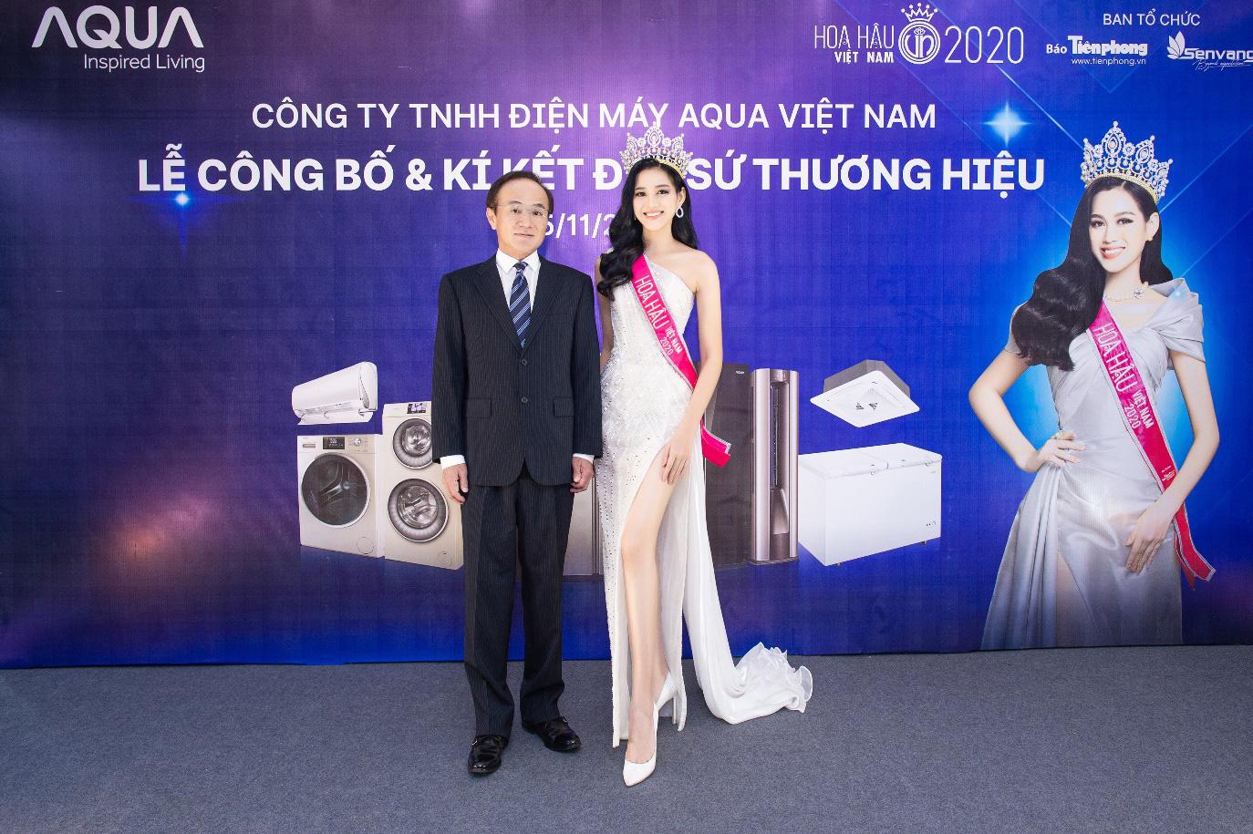 AQUA Việt Nam công bố Đỗ Thị Hà - Hoa hậu Việt Nam 2020 là đại sứ thương hiệu năm 2021 - Ảnh 4.