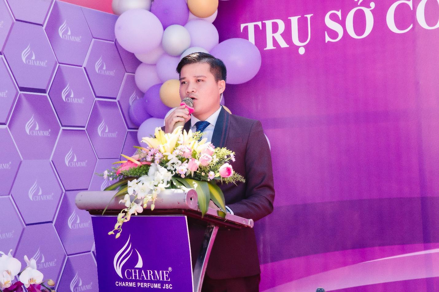 Top Hoa hậu Việt Nam 2020 đến chúc mừng nước hoa Charme khai trương trụ sở công ty tại TP.HCM - Ảnh 7.