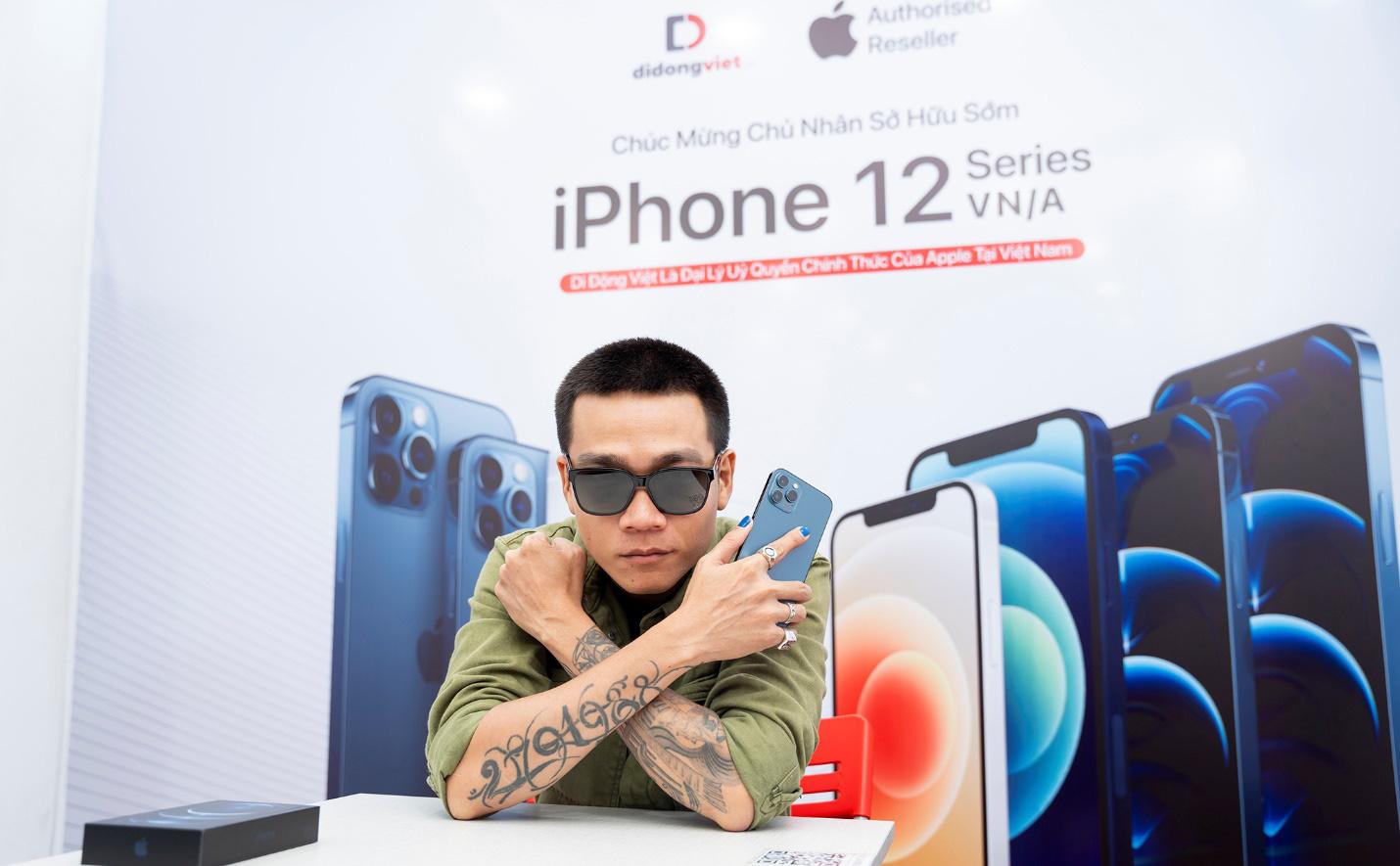 Wowy sở hữu iPhone 12 Pro Max VN/A ngay trong ngày mở bán đầu tiên tại Việt Nam - Ảnh 2.