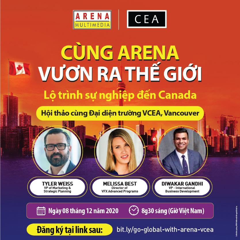 Cùng Arena vươn ra thế giới: Cơ hội vàng cho học sinh Việt - Ảnh 2.