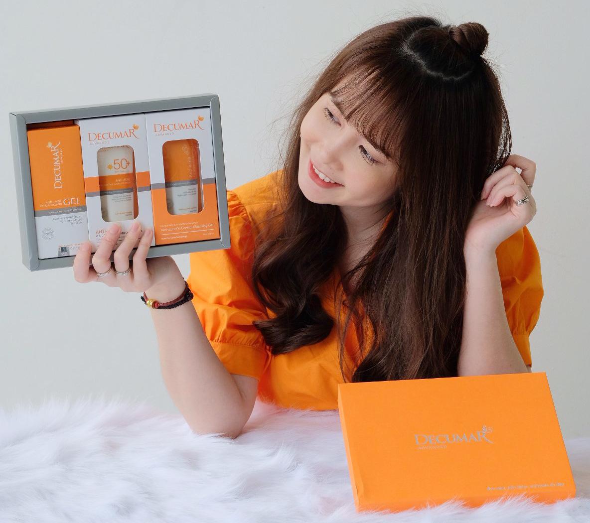 """Hot girl Mai Quỳnh Anh được """"khai sáng"""" việc chăm da mụn từ gốc như thế nào? - Ảnh 1."""