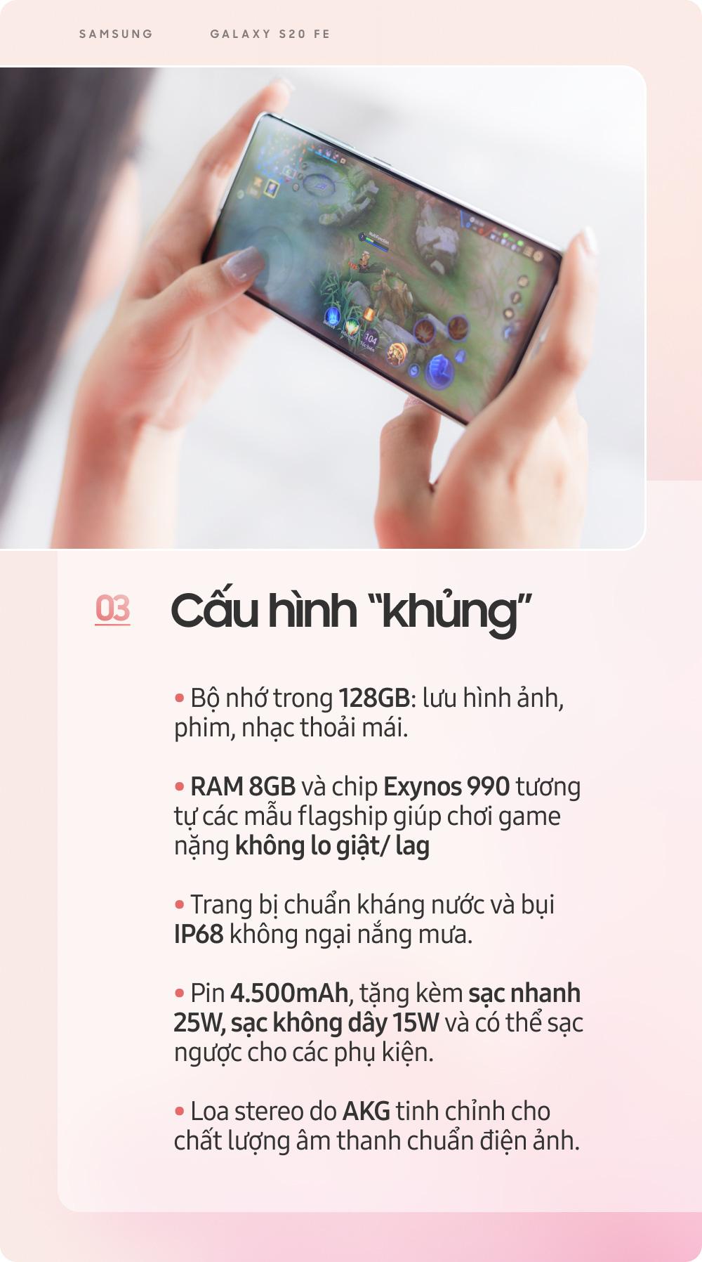 Samsung Galaxy S20 FE: Smartphone dành cho giới trẻ sành điệu - Ảnh 4.