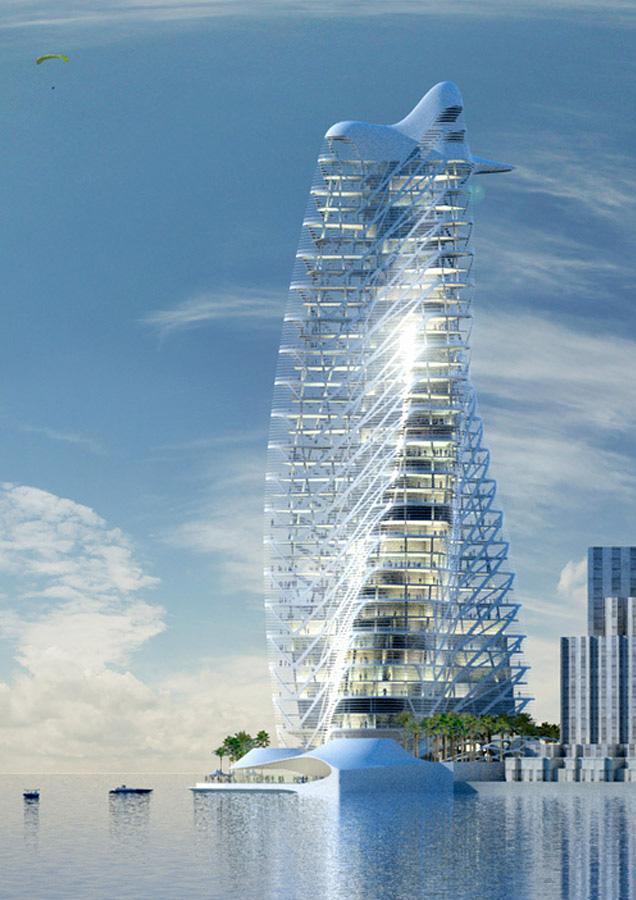 Tập đoàn thiết kế hàng đầu Dubai thiết kế tháp xanh biểu tượng Ecopark - Ảnh 4.