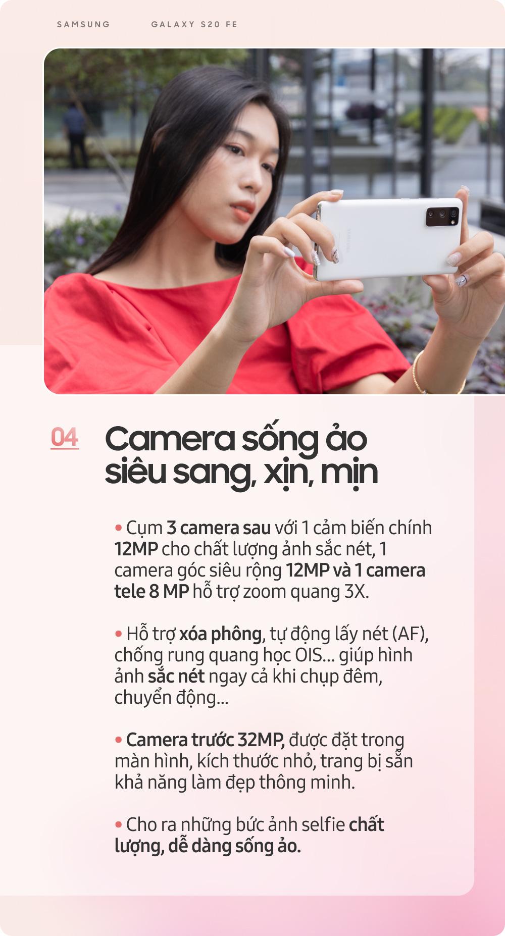 Samsung Galaxy S20 FE: Smartphone dành cho giới trẻ sành điệu - Ảnh 6.