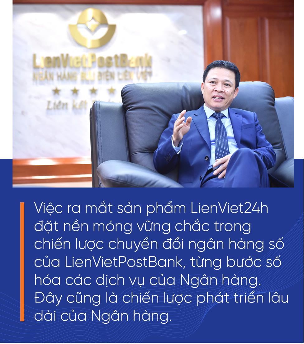 CEO LienVietPostBank: LPB luôn có cơ hội cho các nhà đầu tư - Ảnh 12.