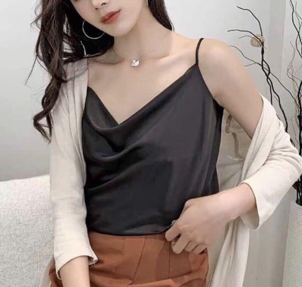 Nguyễn Hồng Store giới thiệu những mẫu áo tôn vòng 1 duyên dáng - Ảnh 4.