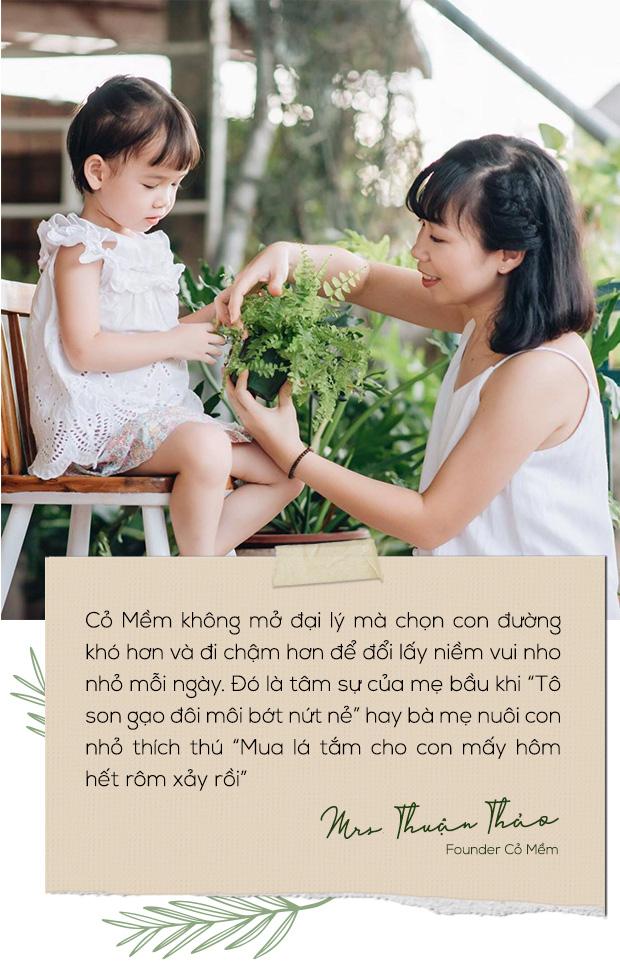 Founder Cỏ Mềm: Trao đi sản phẩm lành và thật, nhận về niềm yêu đời thiết tha - Ảnh 2.