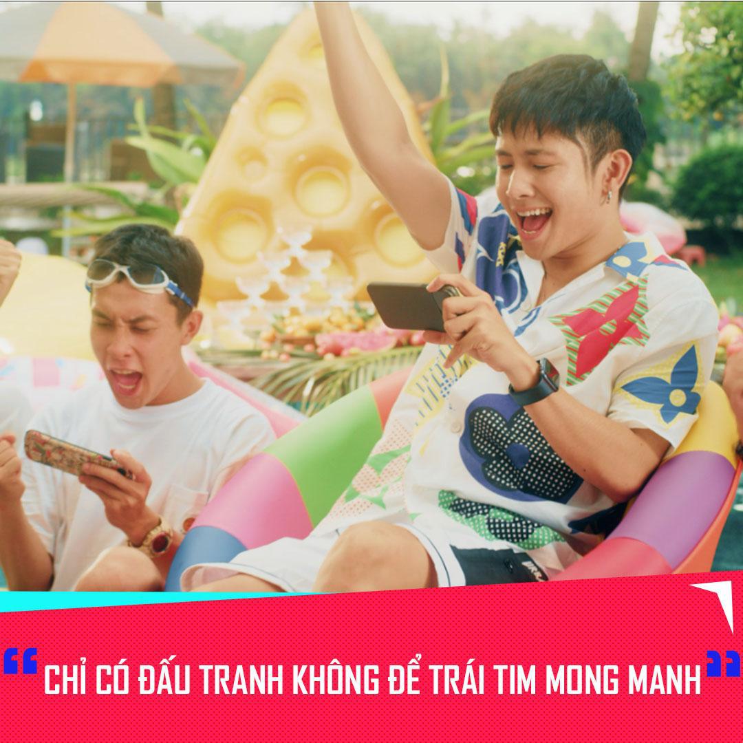 Thông điệp cực chất của Ricky Star và Xesi trong MV mới, giới trẻ nên học hỏi tinh thần này - Ảnh 1.