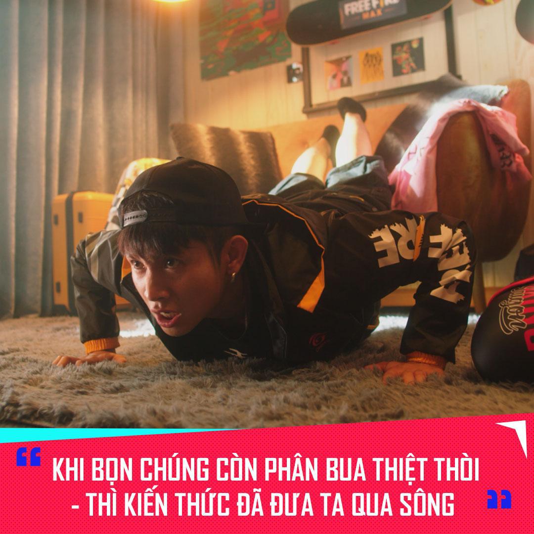 Thông điệp cực chất của Ricky Star và Xesi trong MV mới, giới trẻ nên học hỏi tinh thần này - Ảnh 3.