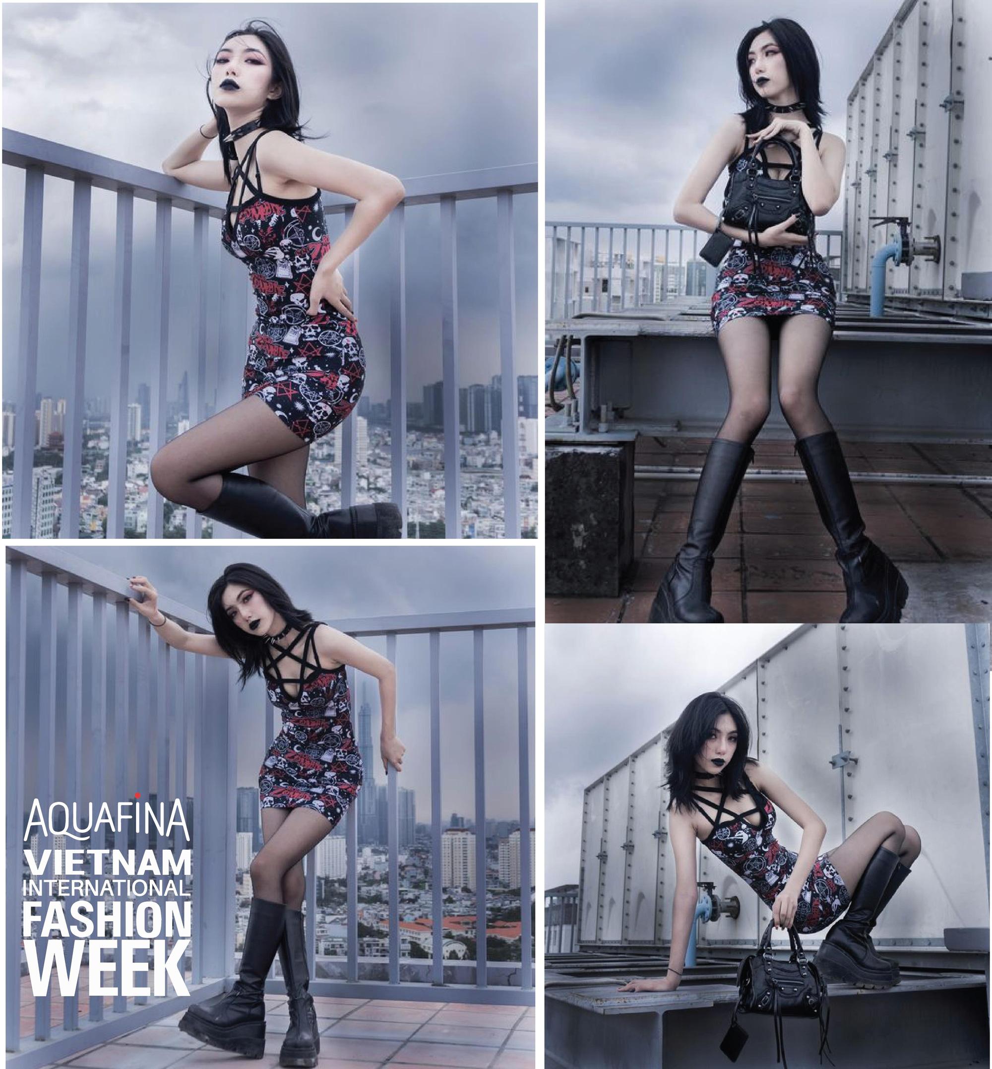 Ngắm Top 3 cuộc thi The Best Street Style của Aquafina Tuần lễ Thời trang Quốc tế Việt Nam 2020! - Ảnh 5.