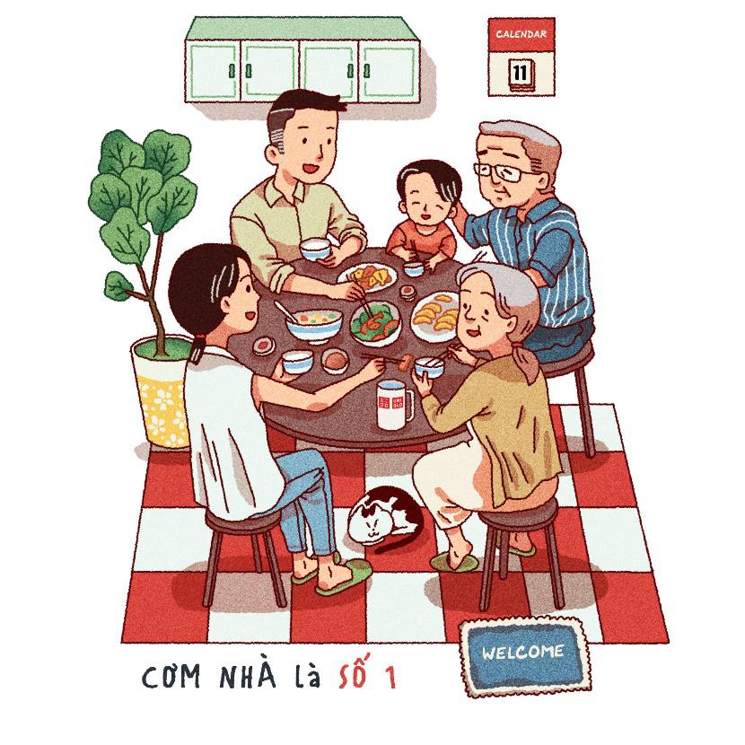 Một vòng Sài Gòn, Hà Nội thân thương qua bộ họa tiết in áo, túi UTme! độc đáo của UNIQLO - Ảnh 1.