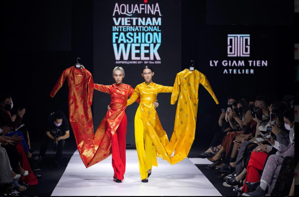 Xem Aquafina Tuần lễ Thời trang Quốc tế Việt Nam 2020 mới thấy: Nước mình còn vô vàn cảm hứng sáng tạo, cần chi đâu nước ngoài? - Ảnh 4.