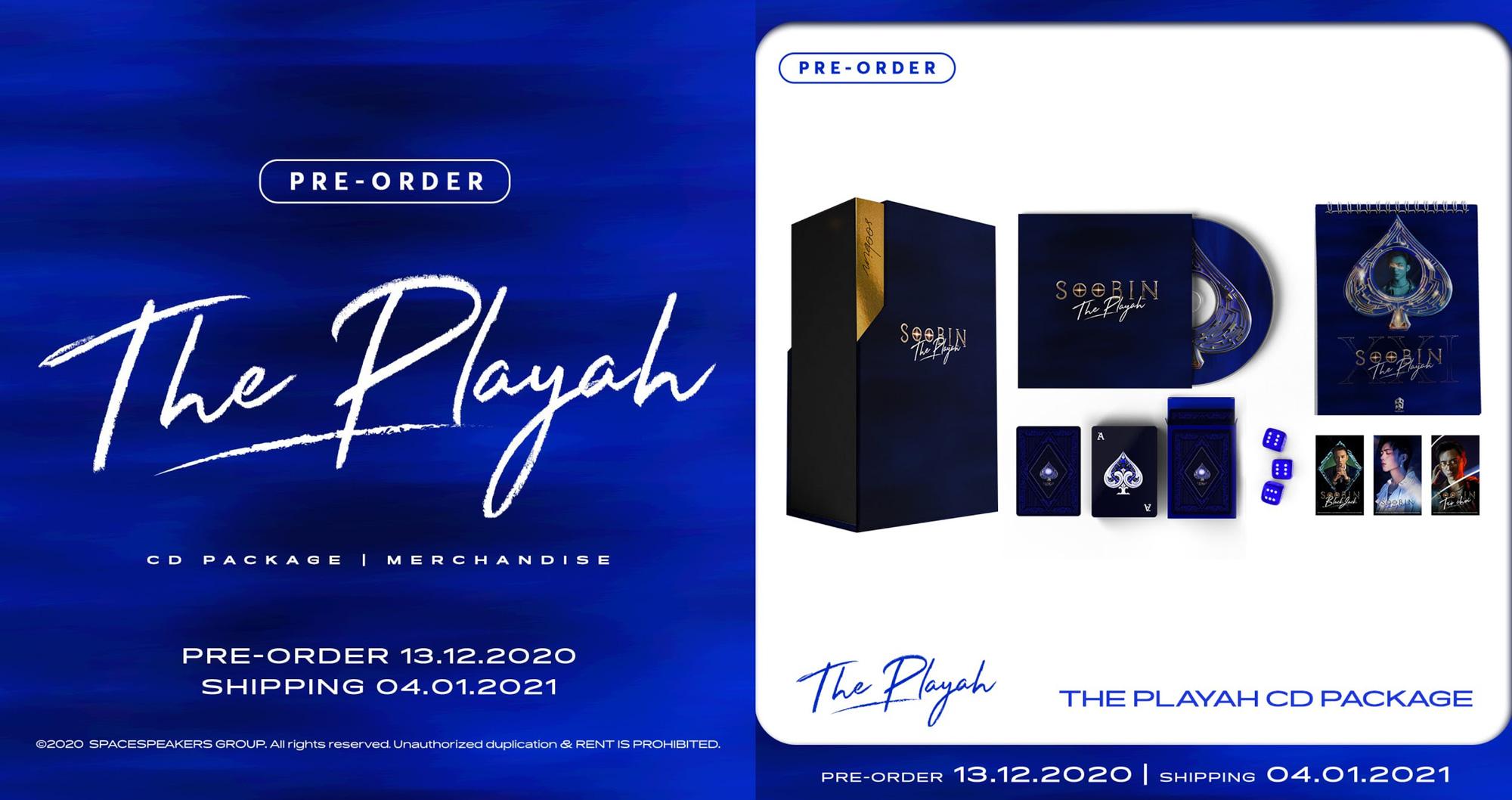 """Có gì hot trong bộ merchandise The Playah"""" của SOOBIN? - Ảnh 2."""