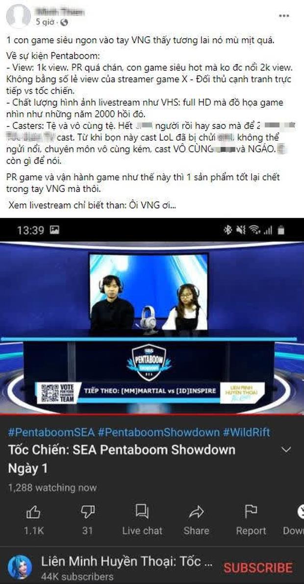 Chất lượng showmatch Pentaboom không ổn định liệu có phải do NPH VNG? Có nên vội thất vọng về tương lai eSports của Tốc Chiến? - Ảnh 2.