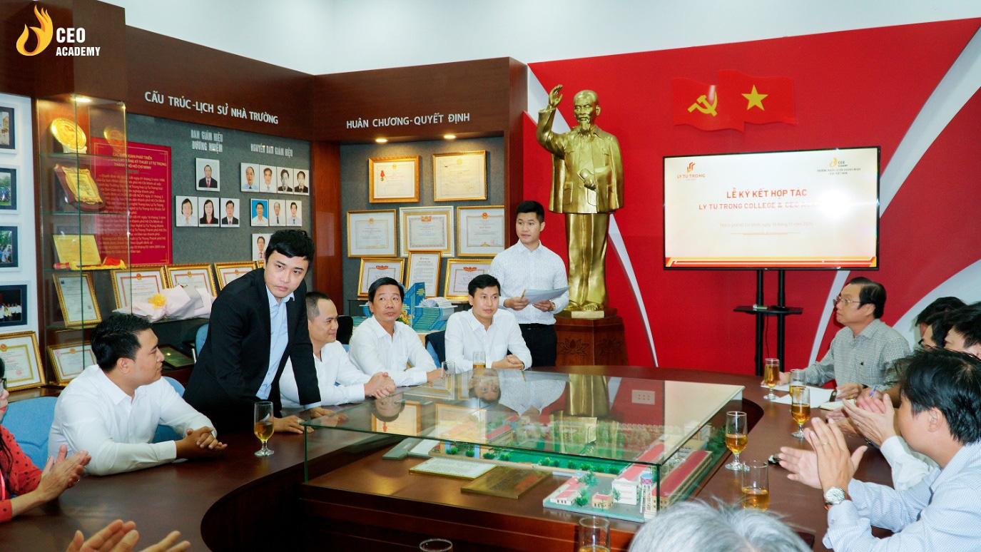 Công ty CP Trường huấn luyện doanh nhân CEO VN chính thức mở cơ sở tại TP.HCM, hiện thực hóa ước mơ CEO cho sinh viên Việt - Ảnh 3.