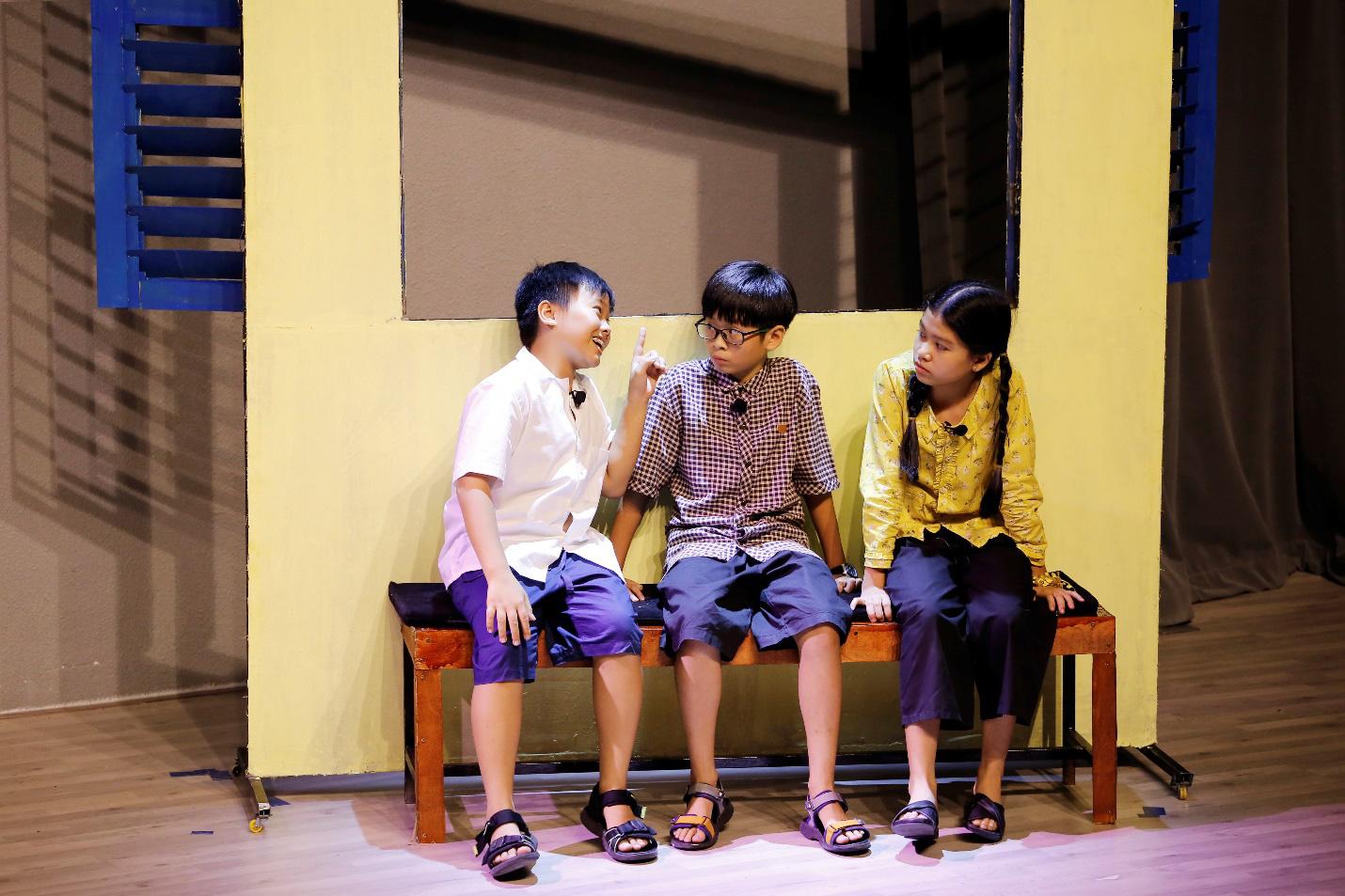 """""""Làm bạn với bầu trời"""" của nhà văn Nguyễn Nhật Ánh lên sân khấu kịch học đường - Ảnh 4."""