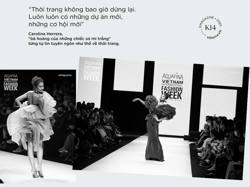 """2020: Khi các kinh đô thế giới cũng phải tạm im tiếng thì dòng chảy thời trang Việt vẫn mãnh liệt khẳng định: """"Tương lai bắt đầu từ hôm nay!"""" - Ảnh 2."""