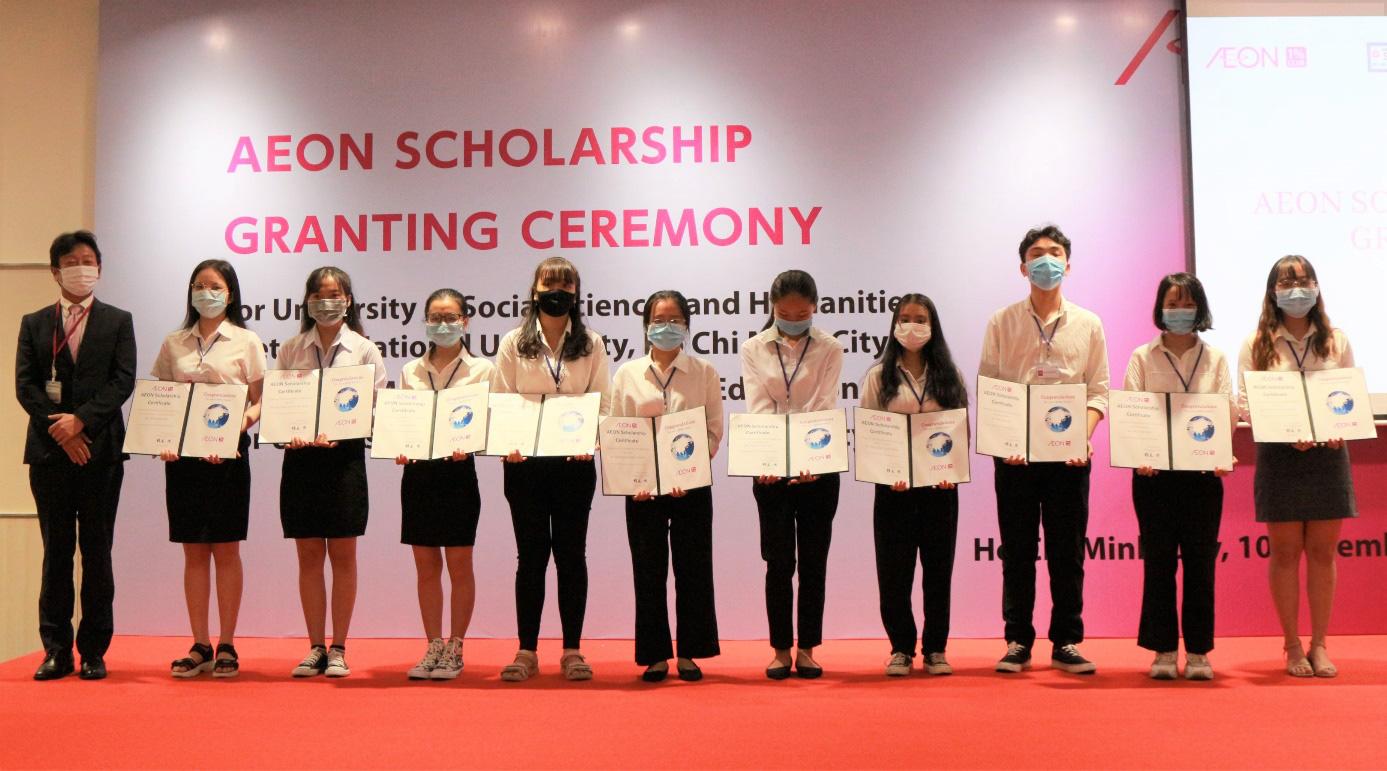 AEON tổ chức trực tuyến lễ trao học bổng lần thứ 12 cho sinh viên Việt Nam - Ảnh 3.