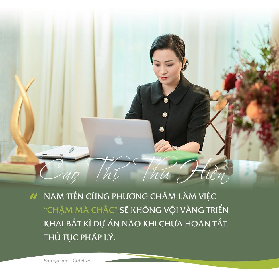 """Nữ tướng Cao Thị Thu Hiền lần đầu tiết lộ về """"chìa khóa"""" thành công của Tập đoàn Nam Tiến trên thị trường BĐS - Ảnh 3."""