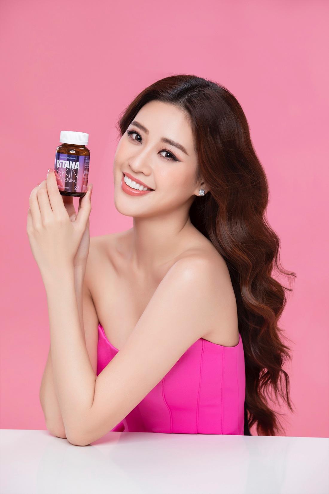 8 tuần nữa Tết rồi, Hoa hậu Khánh Vân mách nước cách chăm da trắng hồng mềm mượt đây này! - Ảnh 3.