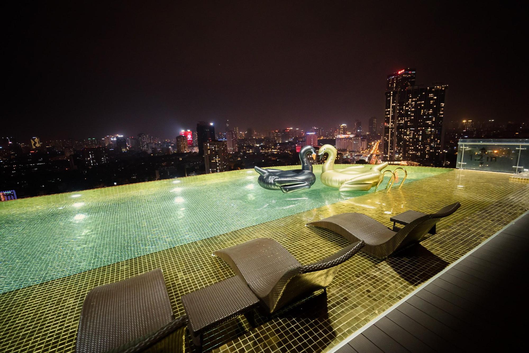MC - Diễn viên Thu Hoài lung linh trong không gian cưới tại khách sạn dát vàng Dolce Hanoi Golden Lake - Ảnh 10.