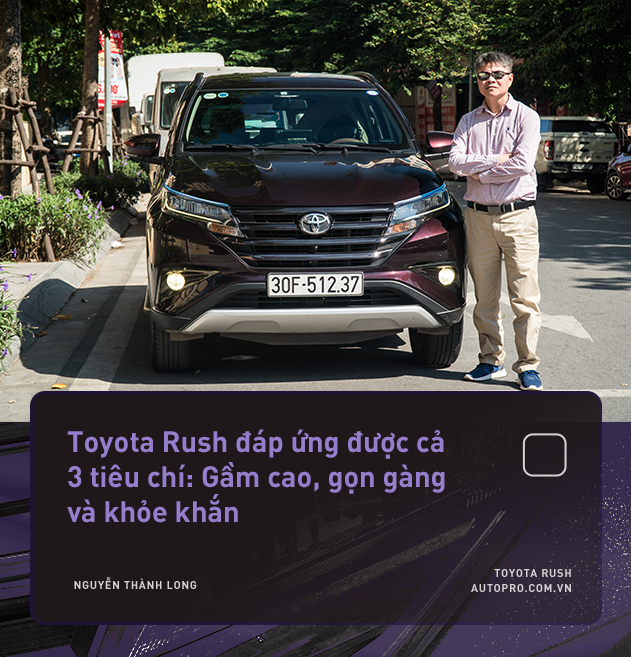 """Dùng 3 đời xe và mua Toyota Rush, khách hàng Việt nhận định: """"Đáng tiền, chắc dùng chục năm nữa chưa hỏng"""" - Ảnh 3."""