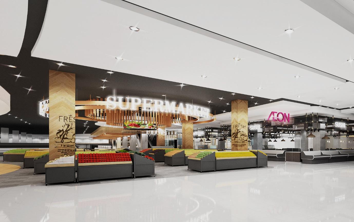 Không lòng vòng, khám phá siêu thị AEON lớn nhất Hải Phòng sắp khai trương - Ảnh 4.