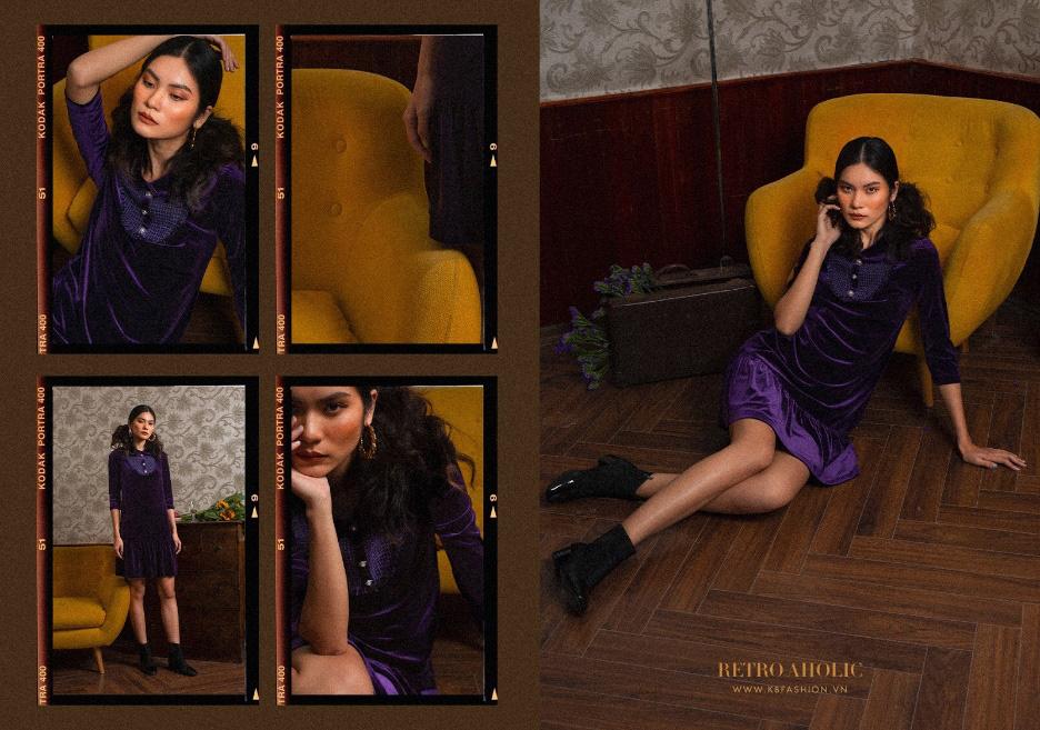 """Tìm lại mảnh ghép cổ điển trong nhịp sống hiện đại với """"Retro Aholic"""" của KB Fashion - Ảnh 6."""