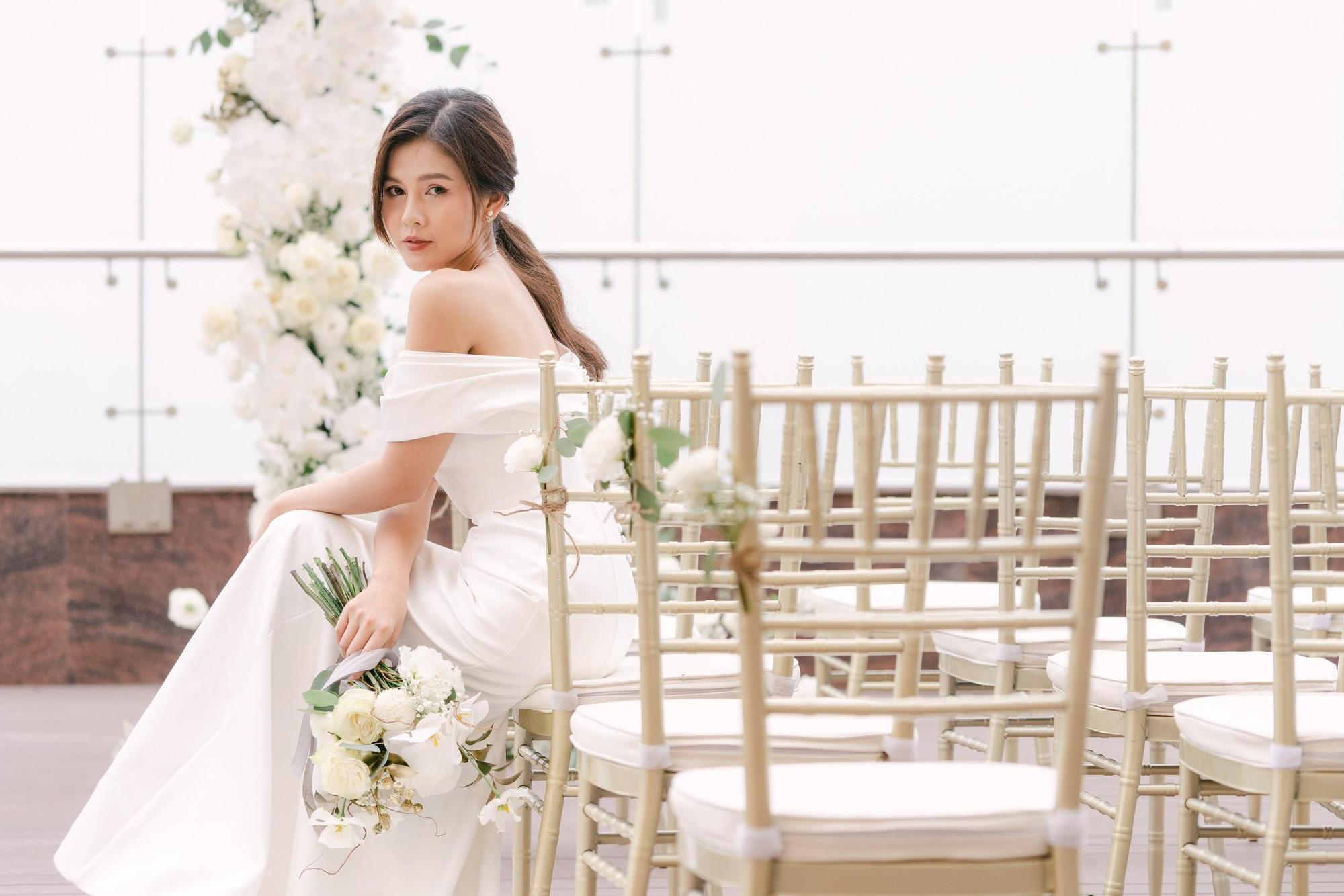 MC - Diễn viên Thu Hoài lung linh trong không gian cưới tại khách sạn dát vàng Dolce Hanoi Golden Lake - Ảnh 8.