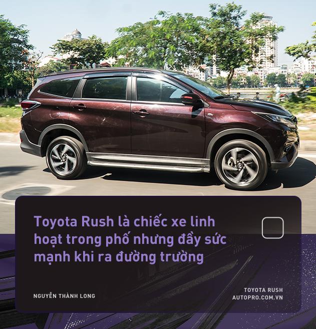 """Dùng 3 đời xe và mua Toyota Rush, khách hàng Việt nhận định: """"Đáng tiền, chắc dùng chục năm nữa chưa hỏng"""" - Ảnh 11."""