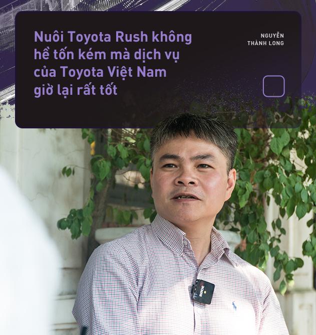 """Dùng 3 đời xe và mua Toyota Rush, khách hàng Việt nhận định: """"Đáng tiền, chắc dùng chục năm nữa chưa hỏng"""" - Ảnh 13."""