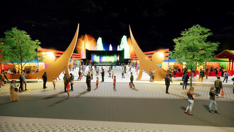 Hot, thêm một khu chợ đêm và phố đi bộ tại Sài Gòn sẽ mở cửa dịp lễ hội cuối năm nay - Ảnh 1.