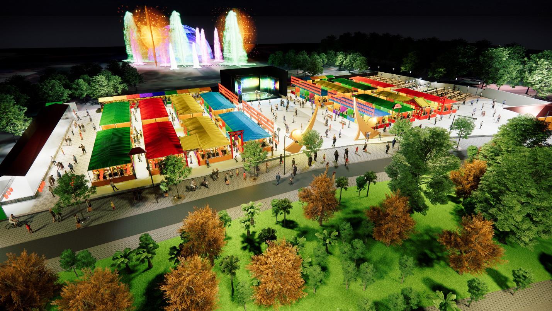 Hot, thêm một khu chợ đêm và phố đi bộ tại Sài Gòn sẽ mở cửa dịp lễ hội cuối năm nay - Ảnh 2.