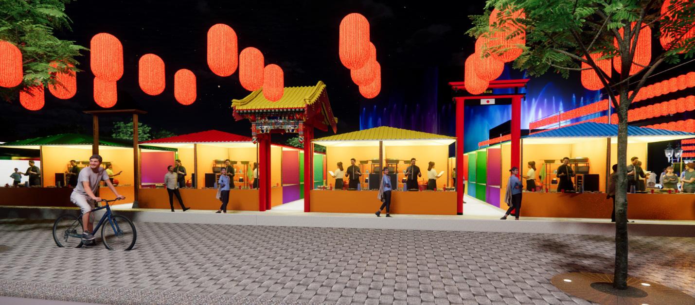Hot, thêm một khu chợ đêm và phố đi bộ tại Sài Gòn sẽ mở cửa dịp lễ hội cuối năm nay - Ảnh 4.