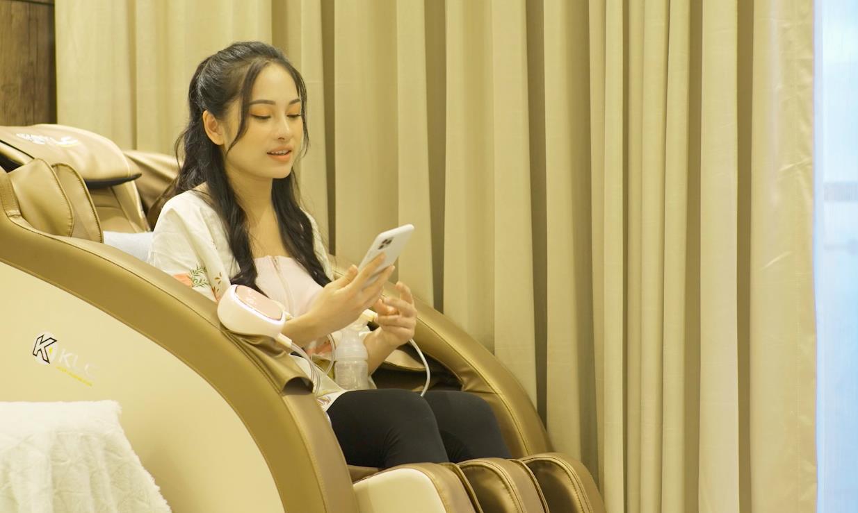 Sara Lưu bật mí mọi dụng cụ chăm sóc con đều là do Dương Khắc Linh sắm sửa - Ảnh 2.