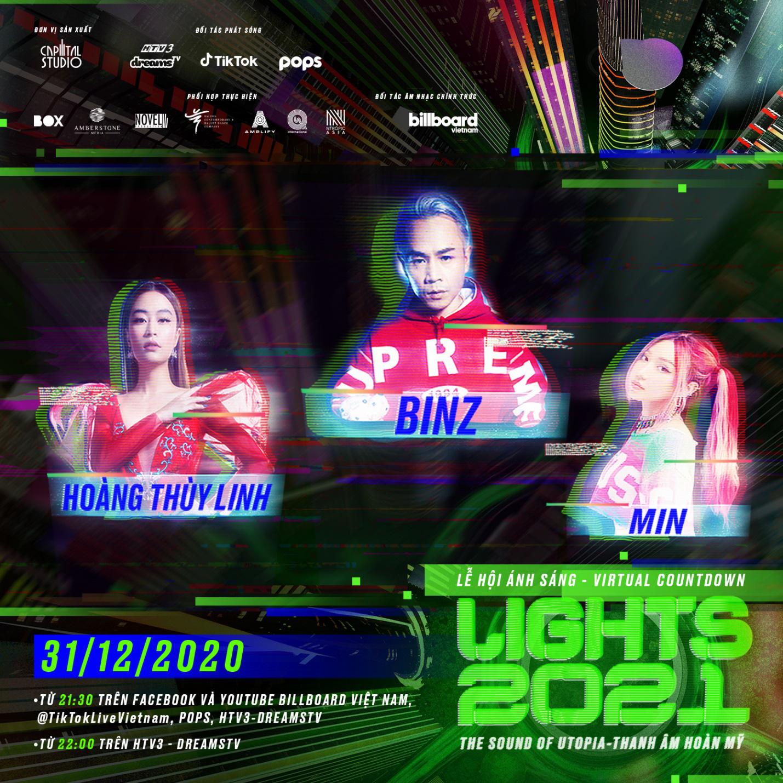 Binz, Hoàng Thùy Linh, Min cùng dàn thí sinh Rap Việt góp mặt trong đêm nhạc thực tế lần đầu xuất hiện tại Việt Nam - Ảnh 2.