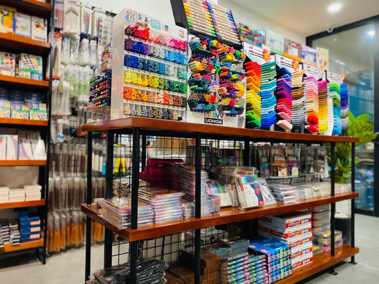 Họa cụ Da Đen - Nuôi dưỡng ước mơ họa sĩ chuyên nghiệp, Art store cho các tín đồ sáng tạo trong lĩnh vực hội họa, thiết kế, thời trang - Ảnh 4.