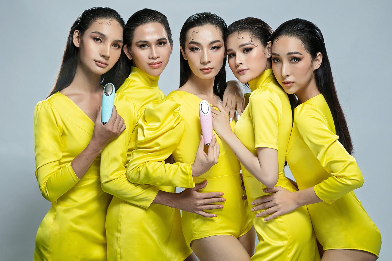 Dàn thí sinh Miss International Queen Việt Nam nóng bỏng cùng sản phẩm của nhà tài trợ - Ảnh 8.