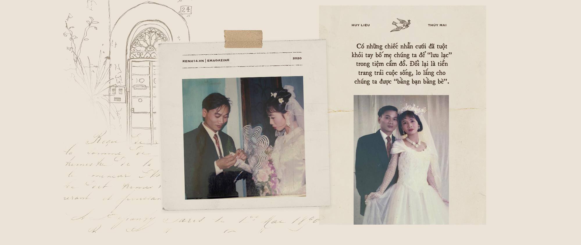 Cảm ơn bố mẹ đã cưới nhau, dù năm ấy không có nhẫn lồng tay, nhưng hàng chục năm bền chặt đã dạy con chỉ yêu thôi là chưa đủ - Ảnh 5.