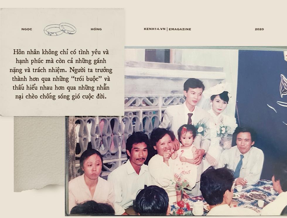 Cảm ơn bố mẹ đã cưới nhau, dù năm ấy không có nhẫn lồng tay, nhưng hàng chục năm bền chặt đã dạy con chỉ yêu thôi là chưa đủ - Ảnh 8.