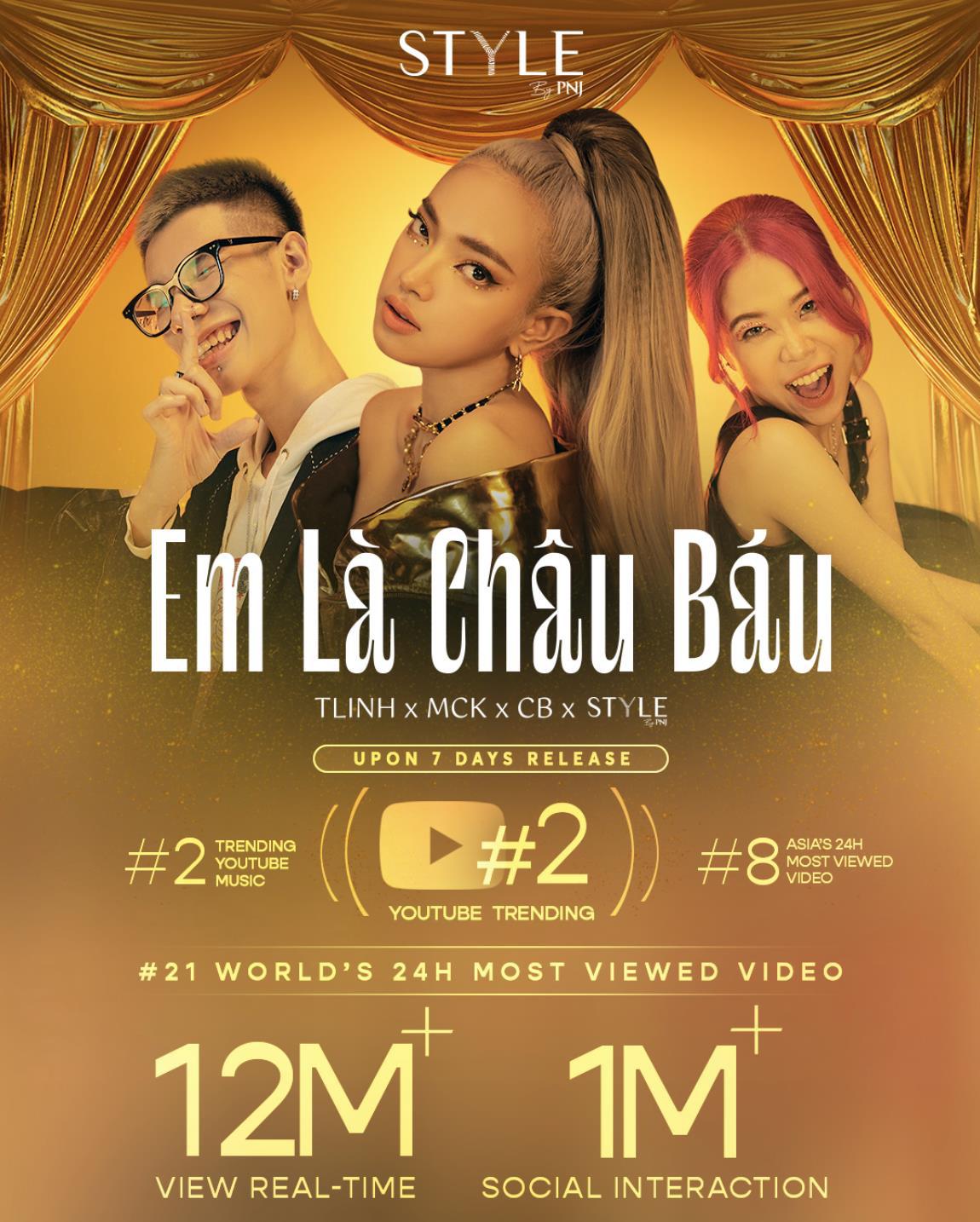 MV đầu tay đã phá đảo Top 2 Trending, Châu Bùi có màn debut hoàn hảo không ngờ - Ảnh 2.
