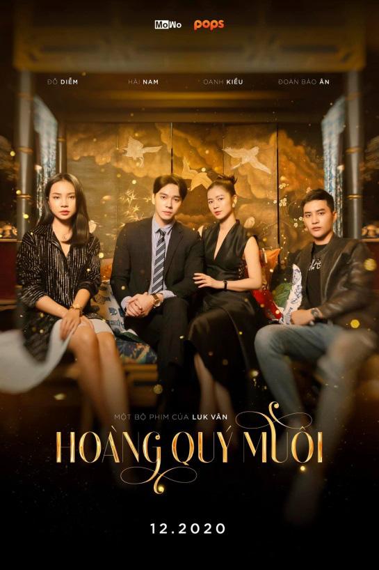 Tiko, Hải Nam, Oanh Kiều góp mặt trong web series Hoàng Quý Muội của đạo điễn Luk Vân - Ảnh 1.